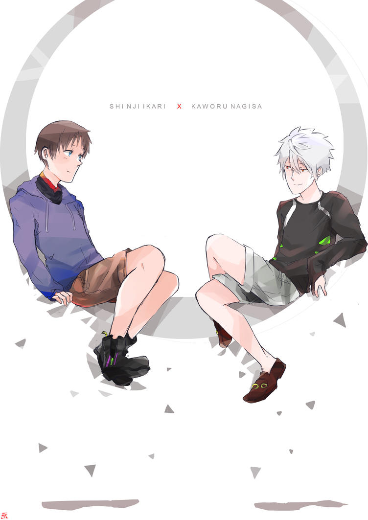 NGE: sweater and shorts by Asterisk-Sky