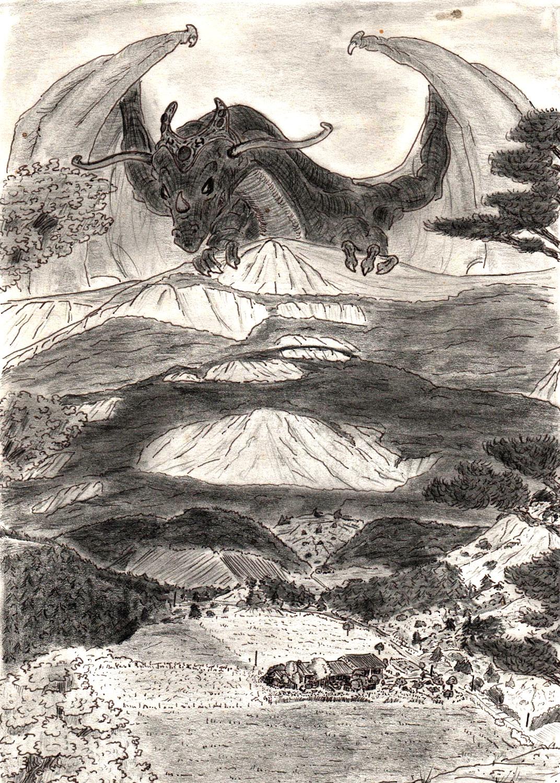 The Legendary Dragon by ArcasCronifer