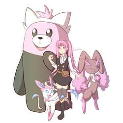 Pokemon Trainer Hilda...?