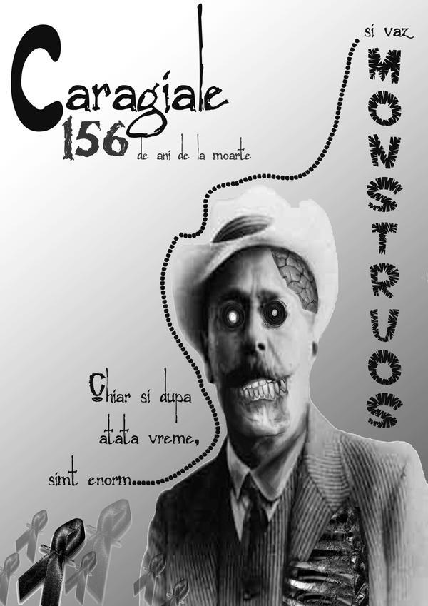 Zombie Caragiale by DarkElin
