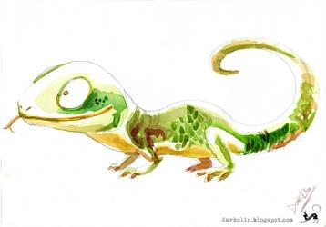Lizard by DarkElin