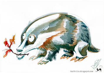 Badger by DarkElin