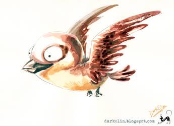 Sparrow-not Jack unfortunately by DarkElin