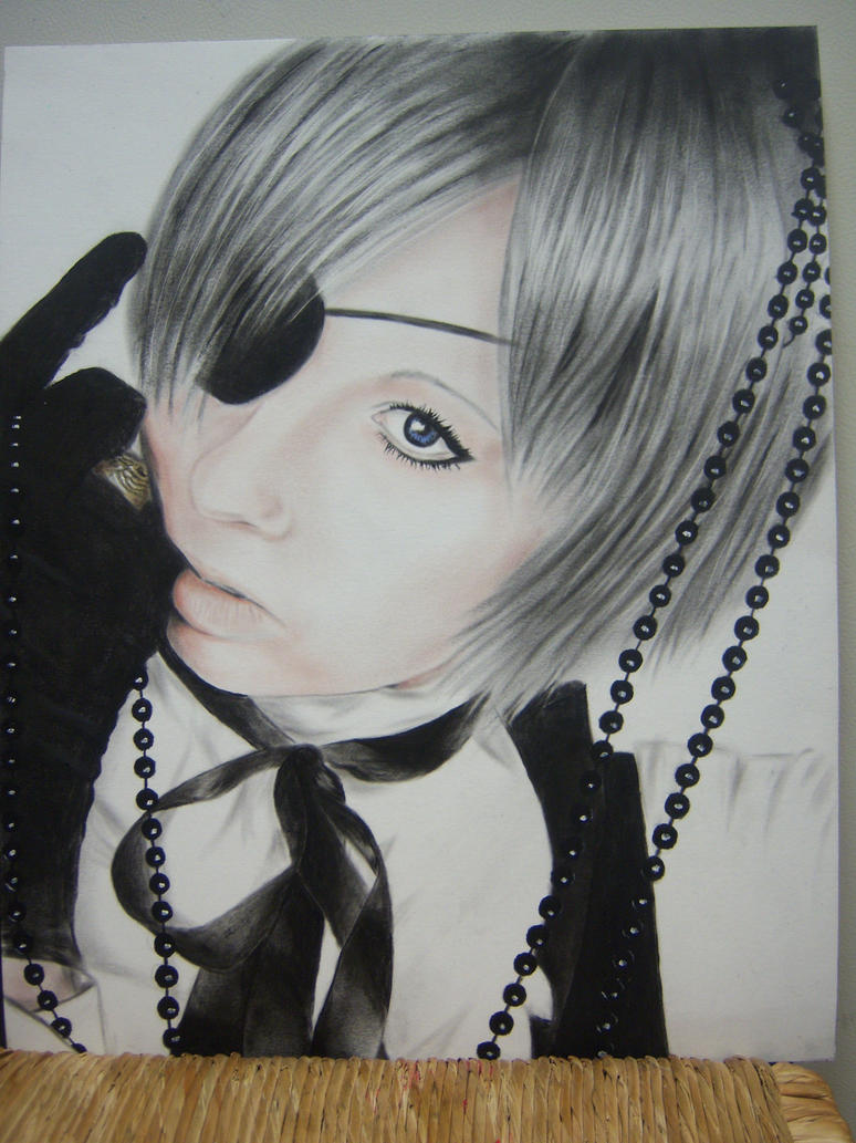 Painting of Ceil Phantomhive by Koralene
