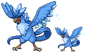 Mega Articuno by BooGhostly