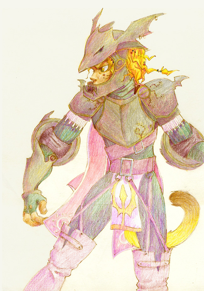Final Fantasy Dragoon Garb Fuego by sarmander