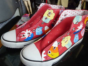 Custom Adventure Time shoes 2