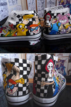 Custom Cartoon Network shoes