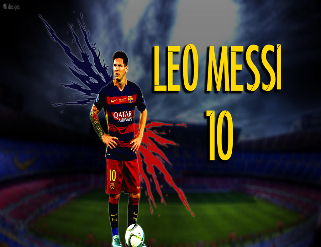 Leo Messi Wallpaper 2015 16 HD By Martinfcb98