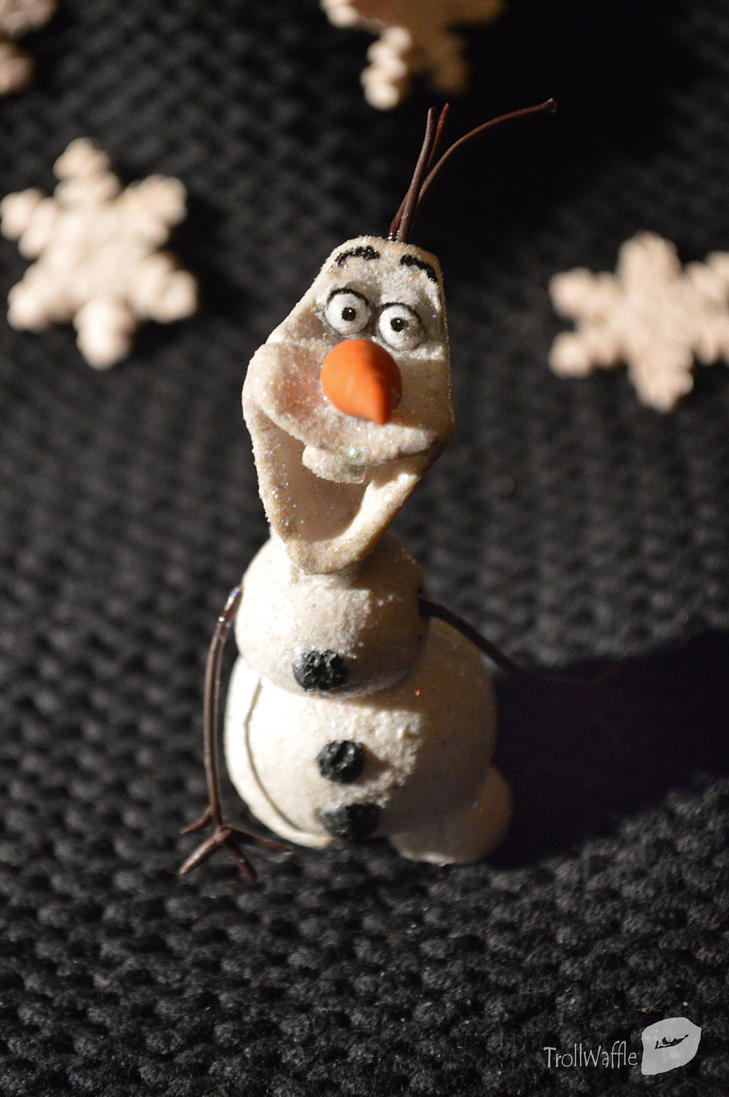 Frozen - Olaf   (Polymer clay) by trollwaffle