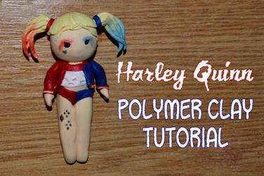 Harley Quinn polymer clay Tutorial Suicide Squad by trollwaffle