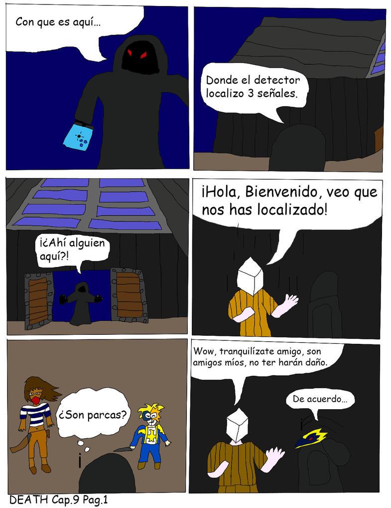 DEATH Capitulo 9 Pagina 1 by Zeroragnarok