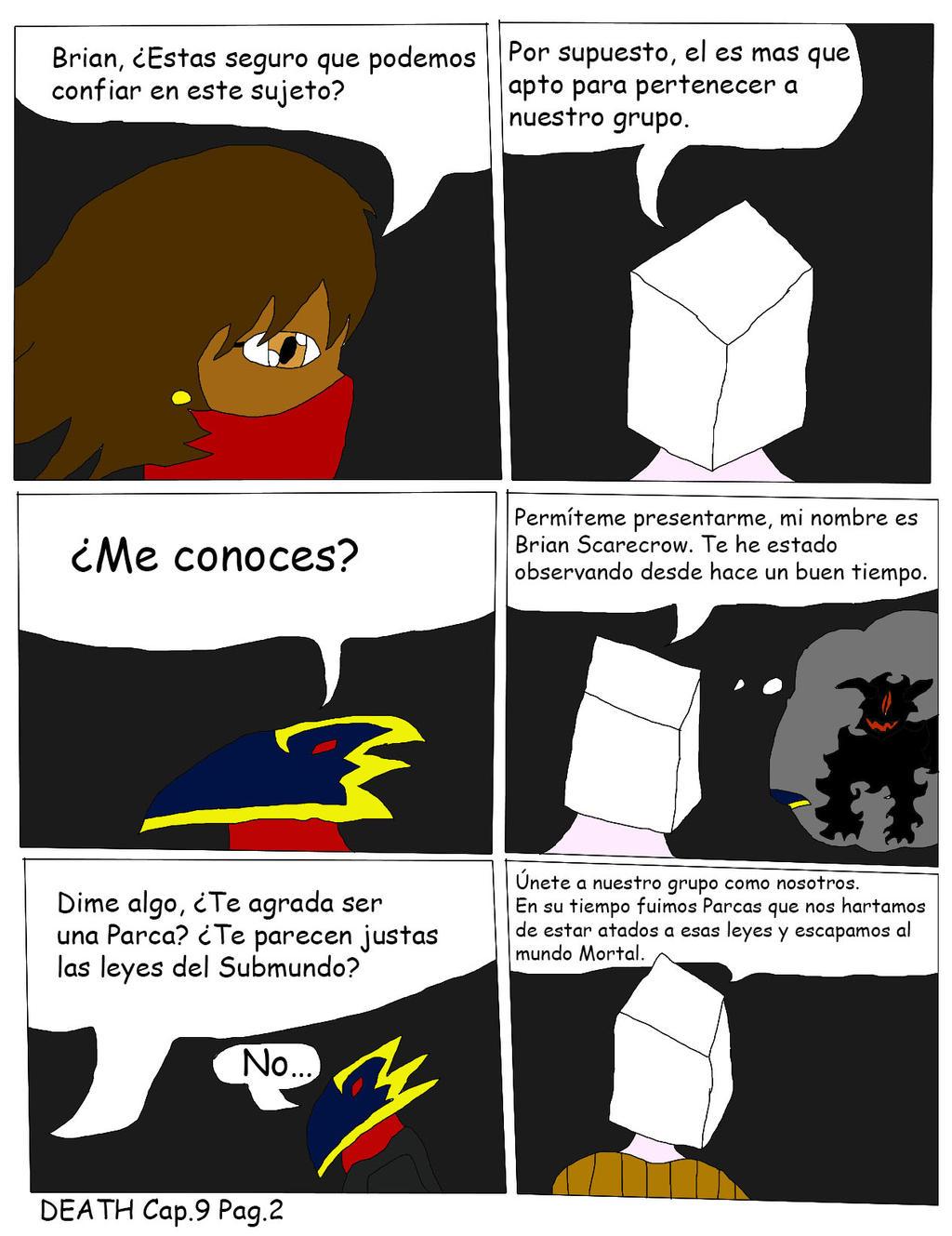 DEATH Capitulo 9 Pagina 2 by Zeroragnarok