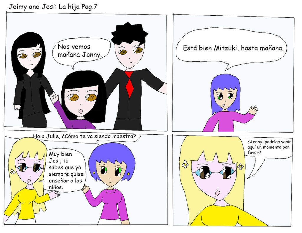 La Hija Pag 7 by Zeroragnarok