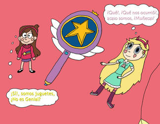 Mabel And Star Butterfly Dolls TF