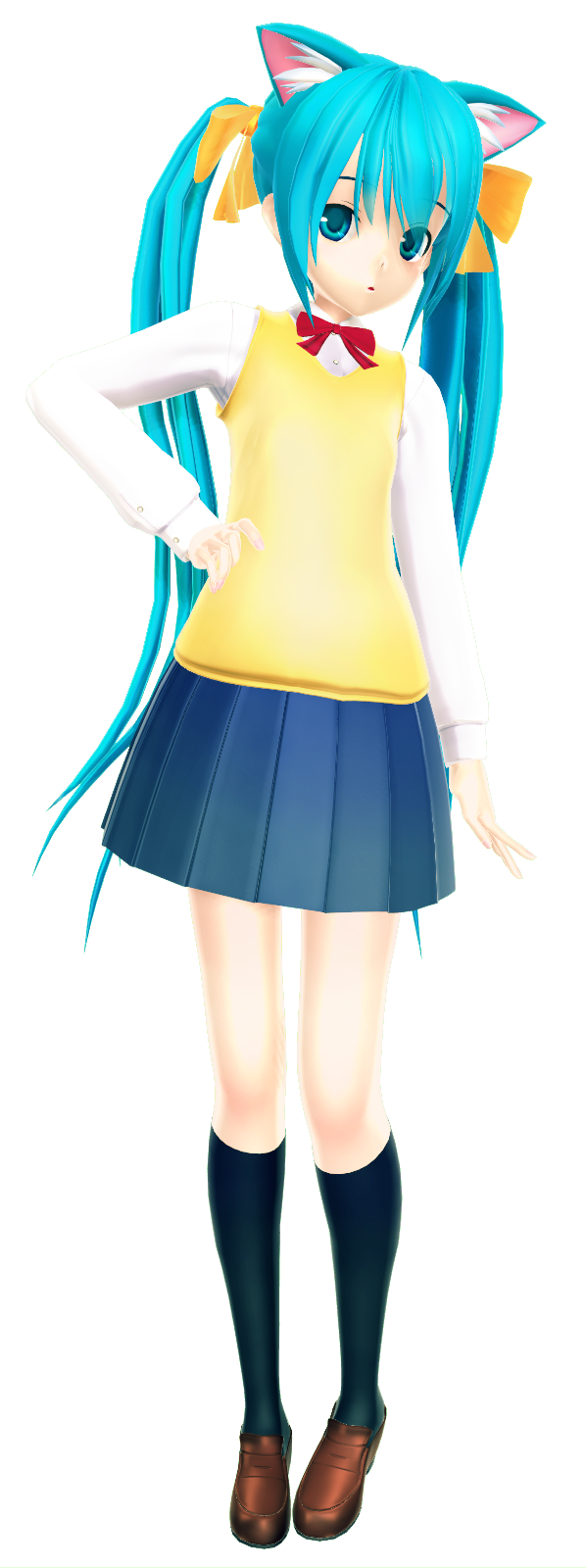 Nyan Girl by Xoriu