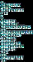 Default MMD Miku Chart by Xoriu
