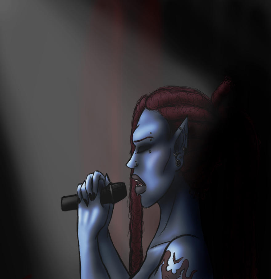 Yasmin.Sing.Finish. by RavenJeanGrey
