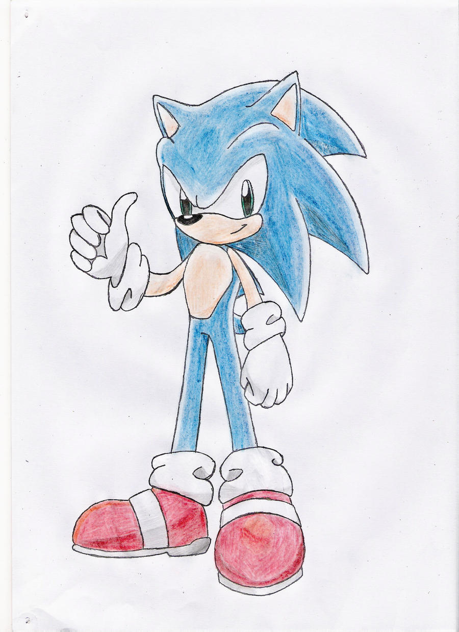 sonic the hedgehog drawing 2 by nothing111111 on deviantart