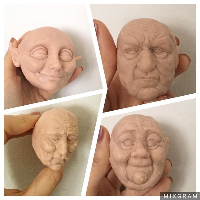Head Sculpts by Starrless-Obscurity