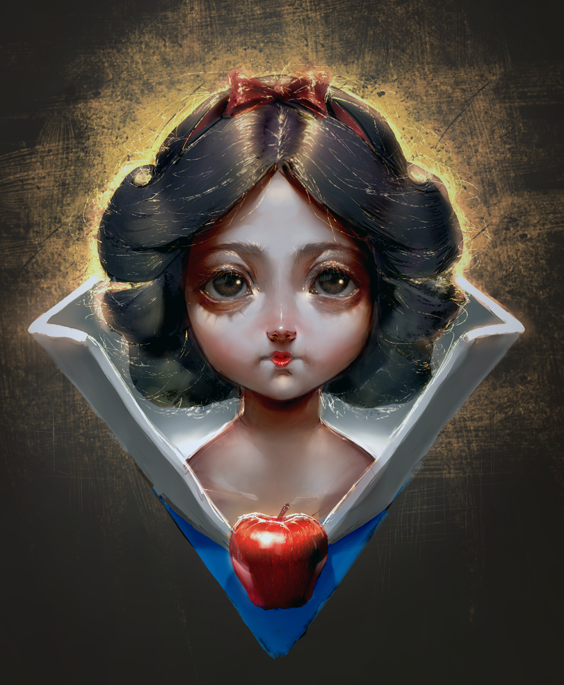 Snow White by Starrless-Obscurity