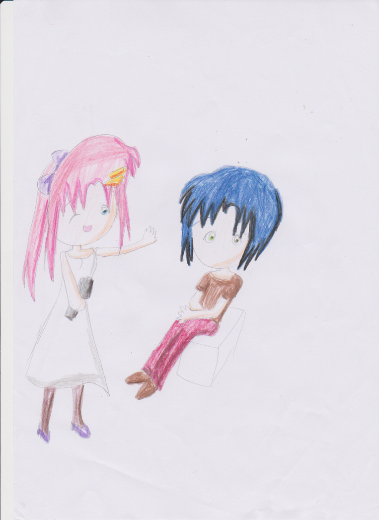 Athrun and Lacus by HienFan