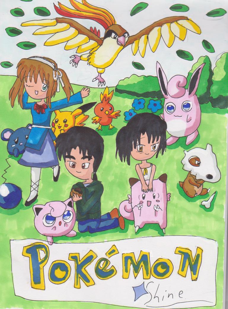 Pokemon doujinshii cover art by HienFan