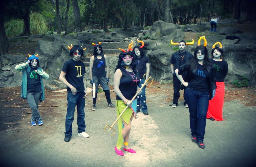 Homestuck Trolls Cosplay Homestuck Trolls cosplay