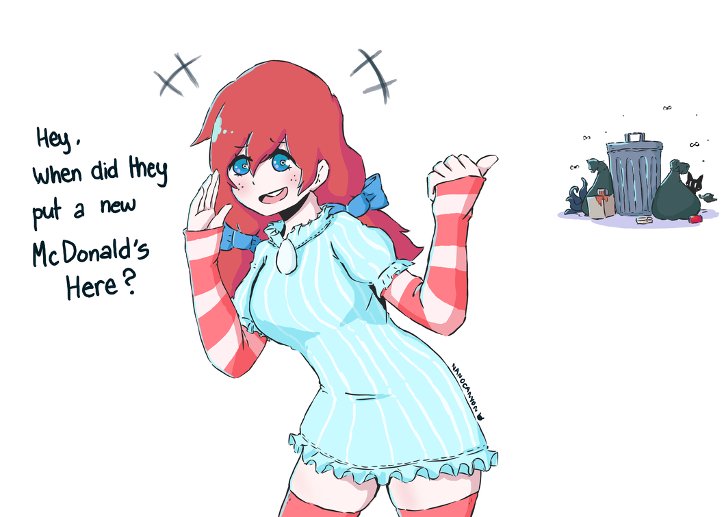 fast food wendy hentai