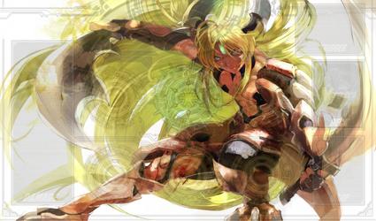 Incadecent Lion, Blond Ezel Playmat by ItachiUchiha602