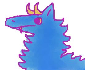 Floofy Dragon by Rukisho