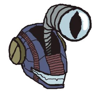 Robot Head by Rukisho