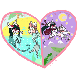 Yume's and Genka's Soulmate Trial by CheriPearl