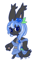 Blueberry Fab by CheriPearl