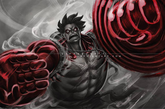STREET FIGHTER V INCLUDE GEAR 4th LUFFY
