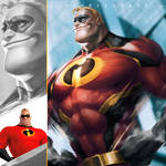 THE INCREDIBLES (1/4) - Mr. Incredible