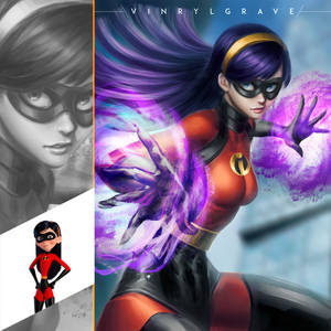 THE INCREDIBLES (4/4) - Violet