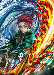 Tanjiro - Constant Flux - Dance of Fire God