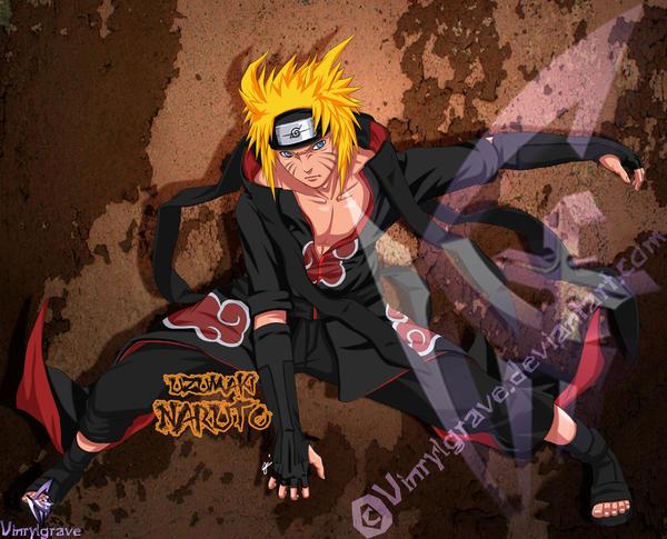 AKatsuki Team 7- Naruto by vinrylgrave