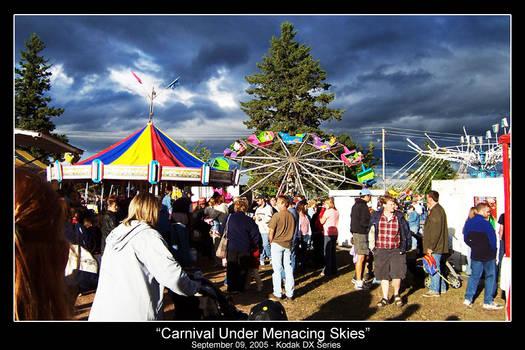 Carnival Under Menacing Skies