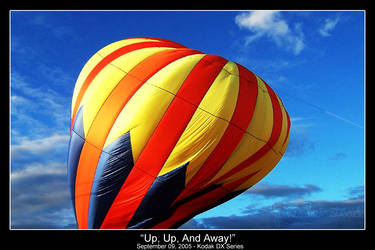 Up, Up, And Away by clicknsnap