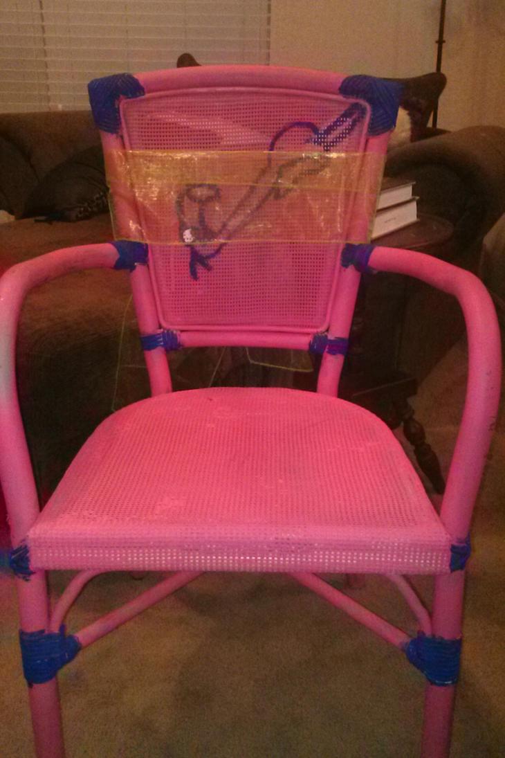 Alice And Wonderland   Flamingo Golf Club Chair By MasterofDragons0825 ...