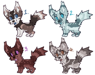 Adoptable Dogs 30 (Closed) by 5TARF0X