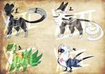 Adoptable Pokemon 72 (Closed) by Cr0wBirbs