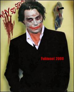 Johnny Depp as Joker by Fabionei on DeviantArt