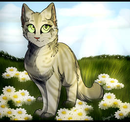 Day 15 - Brindleface (30Day Warrior Cat Challenge) by LostMews