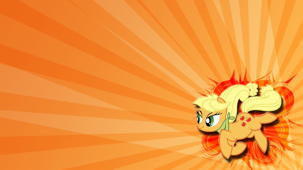 Huzzah! Here comes Applejack! by toruviel