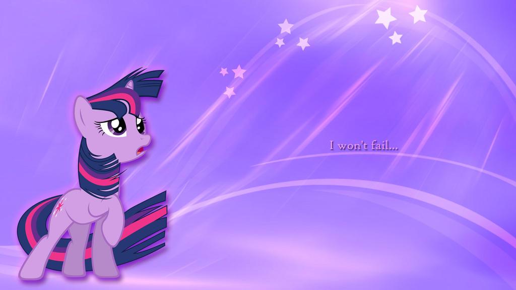 Twilight Sparkle - Failure Wallpaper by toruviel