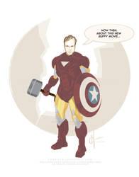 Joss Whedon, Earth's Mightiest Hero by CharlesAllenHarris