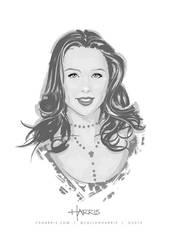 Molly Quinn in vectors by CharlesAllenHarris